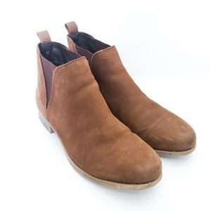 Steve Madden Robberr Chelsea Leather Ankle Boots